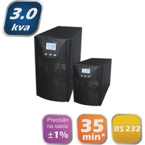 Nobreak Online 3kva 220/220v Com Bateria Interna E Software