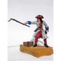 Miniatura Pirata Soldado Guerreiro Chumbo Pintado A Mão.