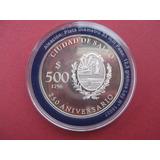Uruguay 500 Pesos 2006 2 Monedas De Plata