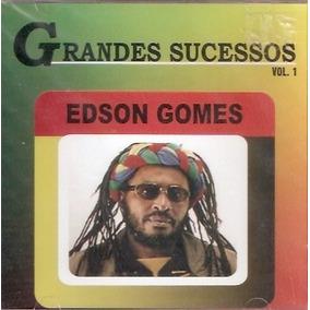Cd Edson Gomes - Grandes Sucessos - Vol.1 - Novo***