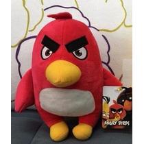 Angry Birds Boneco De Pelúcia Passaro Vermelho