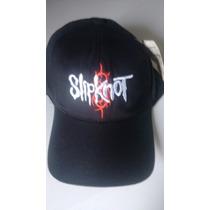 Boné Slipknot¿-rock- Aba Curva-motoclube Frente Grátis