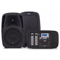 Parlante Amplificador Portable Novik Mixer Usb Evo 410 Handy