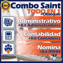 Saint Annual Profesional Admon Contabilidad Nomina Pymes