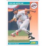 Barajita De Beisbol Venezolano Oscar Azocar Score 1992