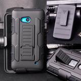 Forro Defender Robot Con Clip Mircrosoft Nokia Lumia 640 Xl