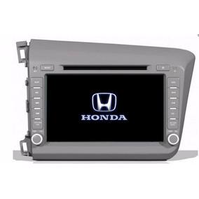 Kit Multimidia Honda Civic 2012 13 14 Espelhamento Tv Gps Bt