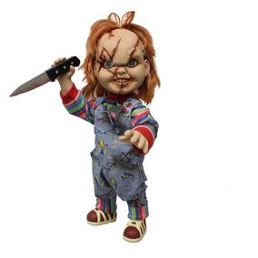 Brinquedo Assassino - Chucky Que Fala - 38 Cm - Mezco