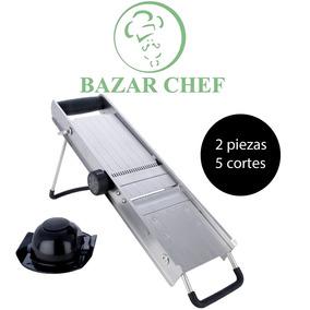 Mandolina Profesional Acero Inox Regulable - Bazar Chef