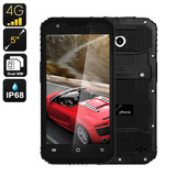 Smartphone 4g Ultra Resistente, Ip68, 2gb Ram,13mp Câmera