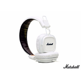 Fone Headphone Major Marshall Branco - Original Nota Fiscal