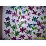 Set De 3 Mariposas Imanes Para Heladera En Porcelana Fria