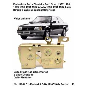 Fechadura Porta Dianteira Apollo 90 A 92 Ford Escort 87 A 92