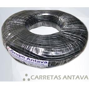Cabo De Fio Pp 04 Vias 0,50mm Reboques Carretinhas Kit 10mt