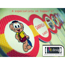 Toppers Tags No Palito Personalizados