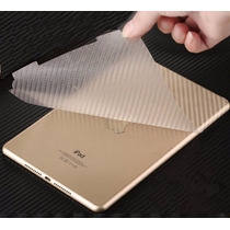 Capa Skin Película Adesivo Fibra Carbono Tablet Ipad 2 3 4
