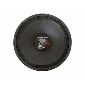 Alto Falante Woofer Snake Cobra Gtx 15.5k 2500w Rms 4 Ohms