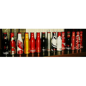 Mini Garrafinhas Da Galera, Coca-cola 2015, Completa