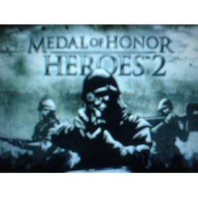 Psp Medalla De Honor Heroes 2 Umd De Psp Slim O Fat Solo Umd