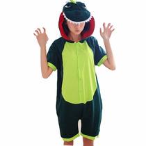 Kigurumi Dinosaurio Pijama Enterito De Verano Kawaii