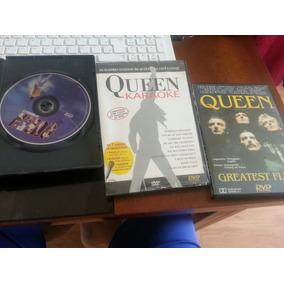 Dvds Queen: Live At Wembley + Greatest Flix 2 + Karaoke