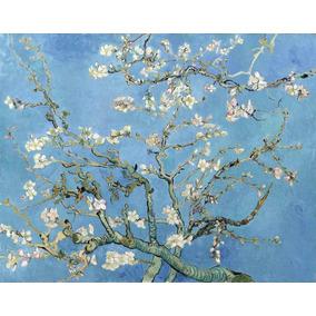 Lienzo Tela Almendro En Flor Vincent Van Gogh 1890 73 X 92cm