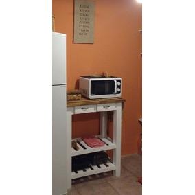Mesa Auxiliar Cocina - Mesas de Cocina de Madera en Bs.As. G.B.A. ...