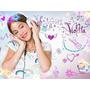 Kit Imprimible Violetta Personalizá Tu Fiesta-envío Gratis