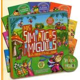 Mis Simpáticos Amiguitos Del Jardín 8 Libros Paginas Carton