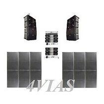 Line Array C/ Sub 2x12+ti Snake Hpx2120 Amps Machine - 4vias