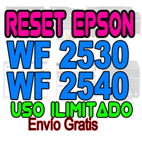Reset Almohadillas Epson Wf2530 Wf2540 Wf2520 Wf2630