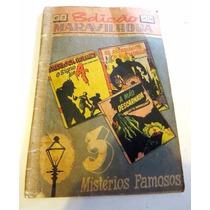 Hq Antiga 1949 Quadrinho Terror Poe Sherlock Maupassant