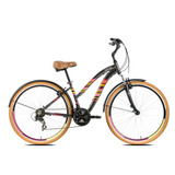 Bicicleta Urbana Tito Downtown Step Through Aro 700 21v