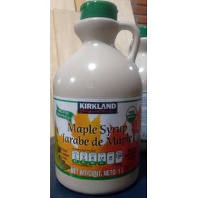 2 Litros Jarabe De Maple Organico Y Un Kit Pasto De Trigo