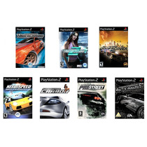 Need For Speed, Carbon, Underground, Pro Street, Most Wanted