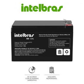 Bateria Central Alarme Intelbras 12v Xb 12al Alta Qualidade