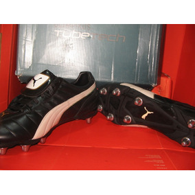 Botin Talle Grande Rugby Cuero Tapon Acero Cambiable 14us