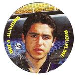 Temporada 98 / 99 Figurita Boca Riquelme Redonda Nº 382