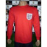 Camiseta De Inglaterra Retro Campeon Mundial 66