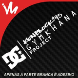 Adesivo Ken Block Gymkhana Dc Shoes Drift Rebaixado