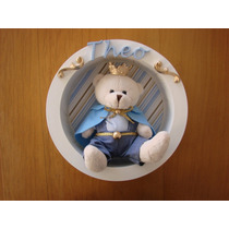 Nicho Rei Leão Urso Coroa Redondo Maternidade Príncipe Bebê