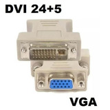 Conversor Dvi Para Vga Placa De Video Monitor Barato