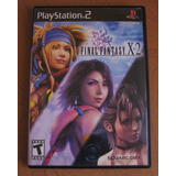 Final Fantasy X-2 Completo Ps2 Con Manual