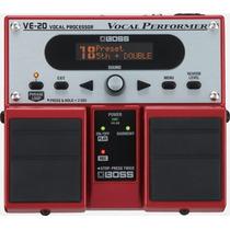 Boss Ve-20 Procesador De Efectos Para Voces Envio Gratis