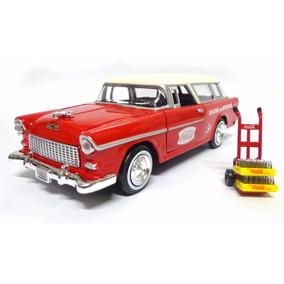 Chevy Bel Air Nomad 1955 Coca-cola 1:24 Motor City Classics