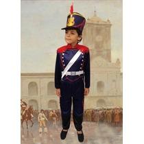 Disfraz Granadero Soldado Niñosc/ Gorro Local Belgrano R
