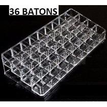 Organizador Porta Batom 36unid. Em Acrílico Maquiagem Batons