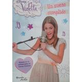 Libro Un Sueño Cumplido Violetta Disney