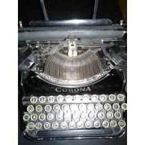 Maquina De Escribir Corona