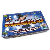 4 Kits Mágicas E Truques Infantil Sr.mágico Crianças